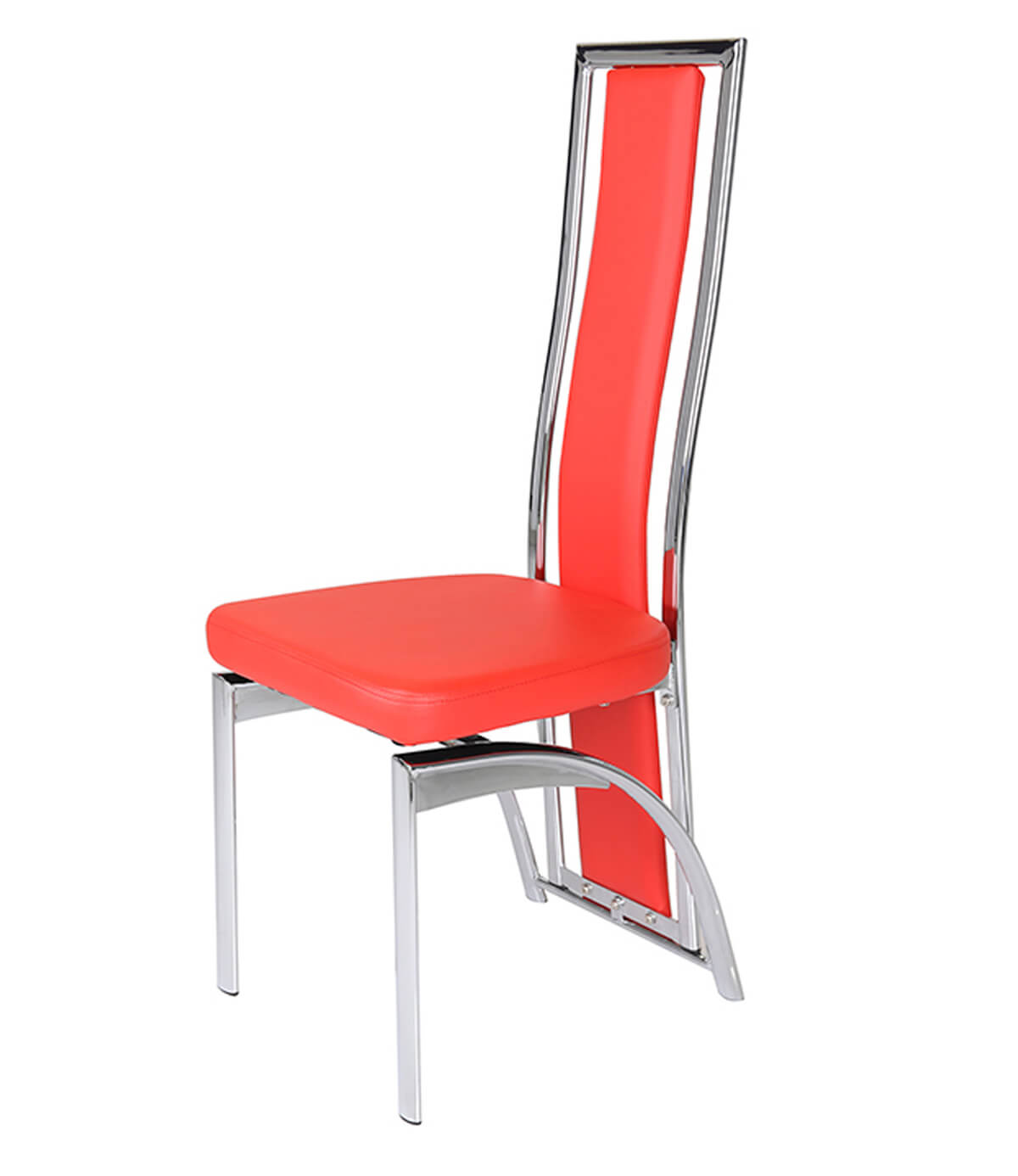 Manchester furniture supplies for Leather and chrome dining chairs