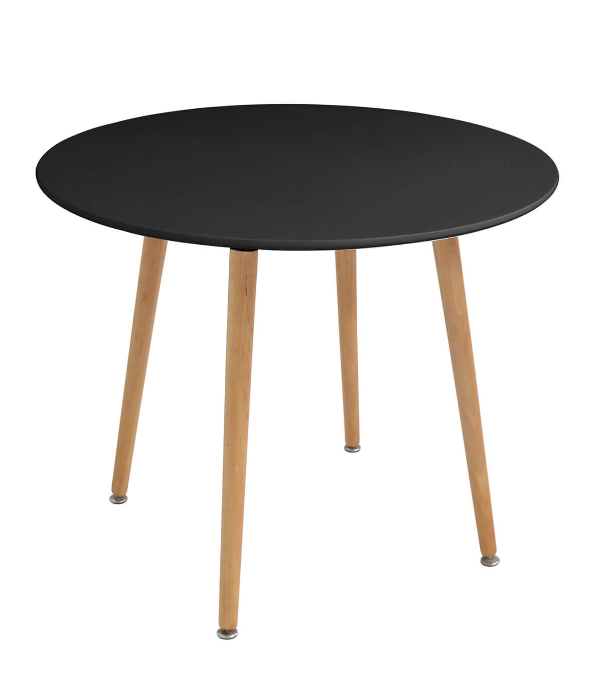 Naples Black Wooden Dining Table Cm Manchester
