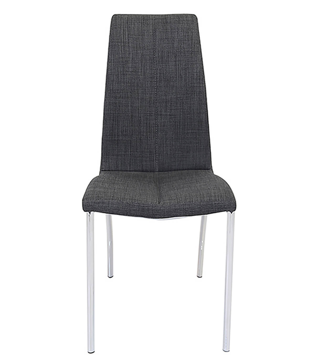 Boston Faux Leather Modern Dining Chair (Charcoal)