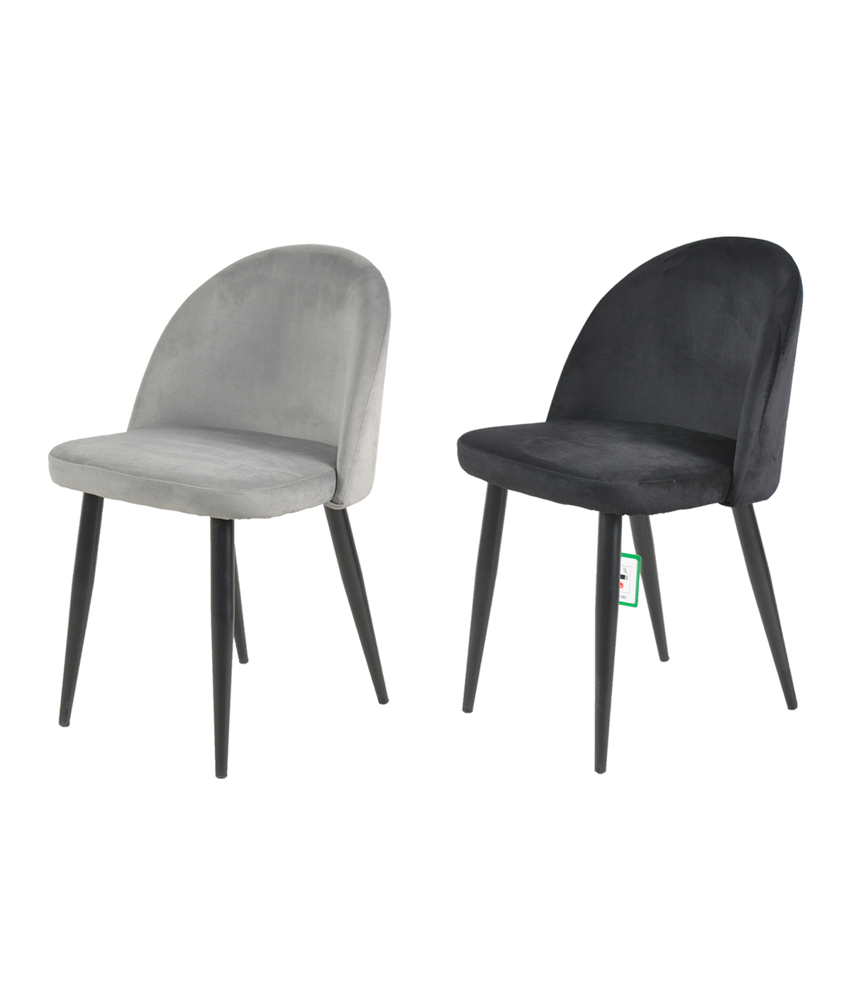 Candy Modern Plush Velvet Dining Chair