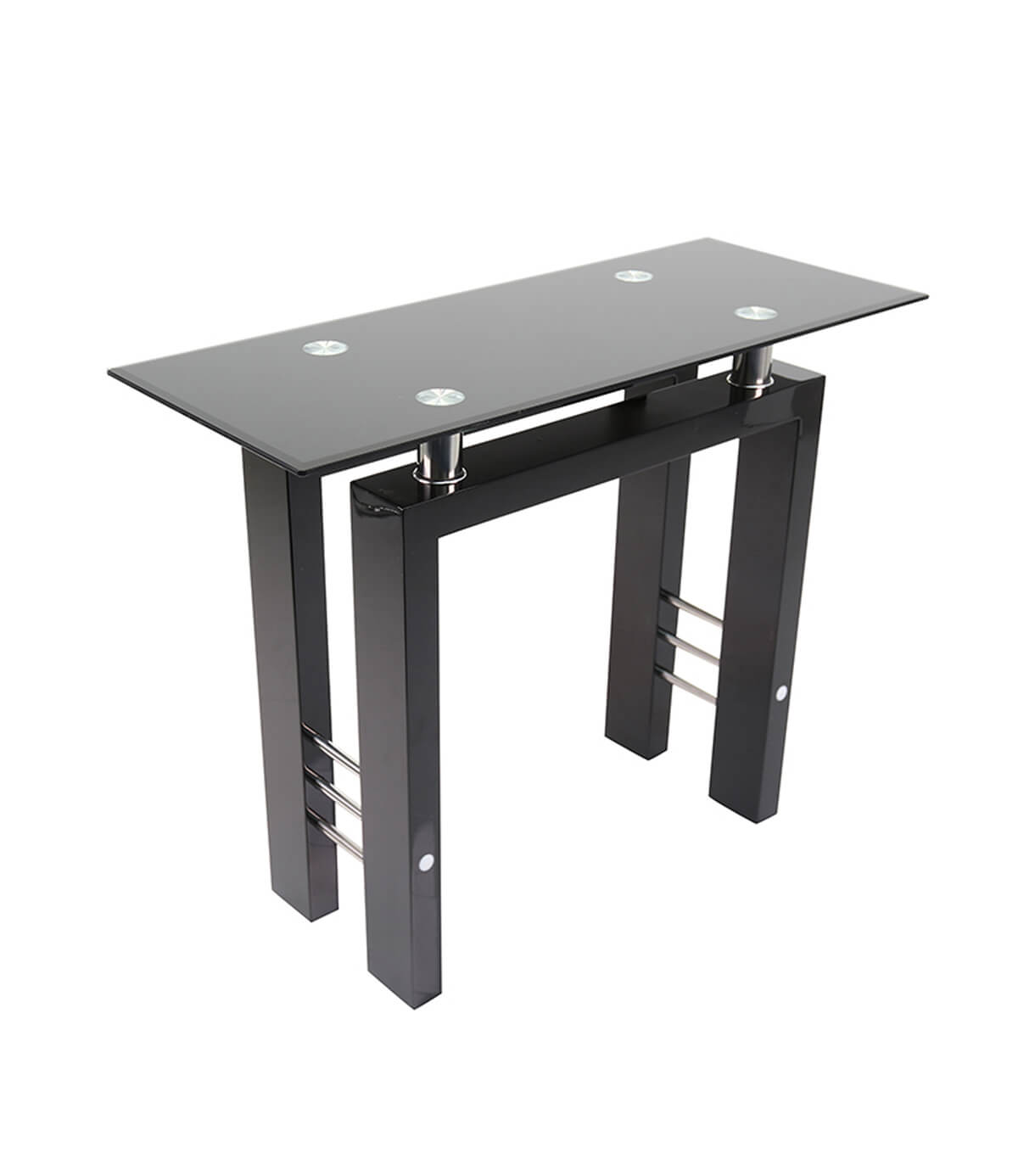 Coffee Table Layers White High Gloss Amazon Co Uk Kitchen: Metro Black High Gloss Console Table