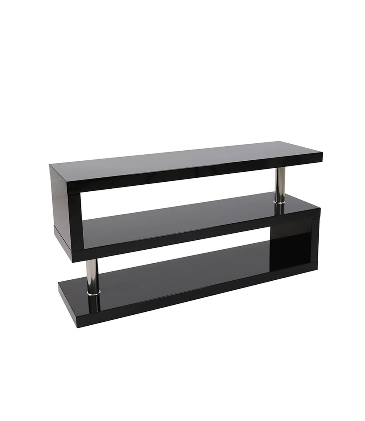 Miami High Gloss Modern Tv Stand Unit Black Manchester Furniture  # Meuble Tv Miami