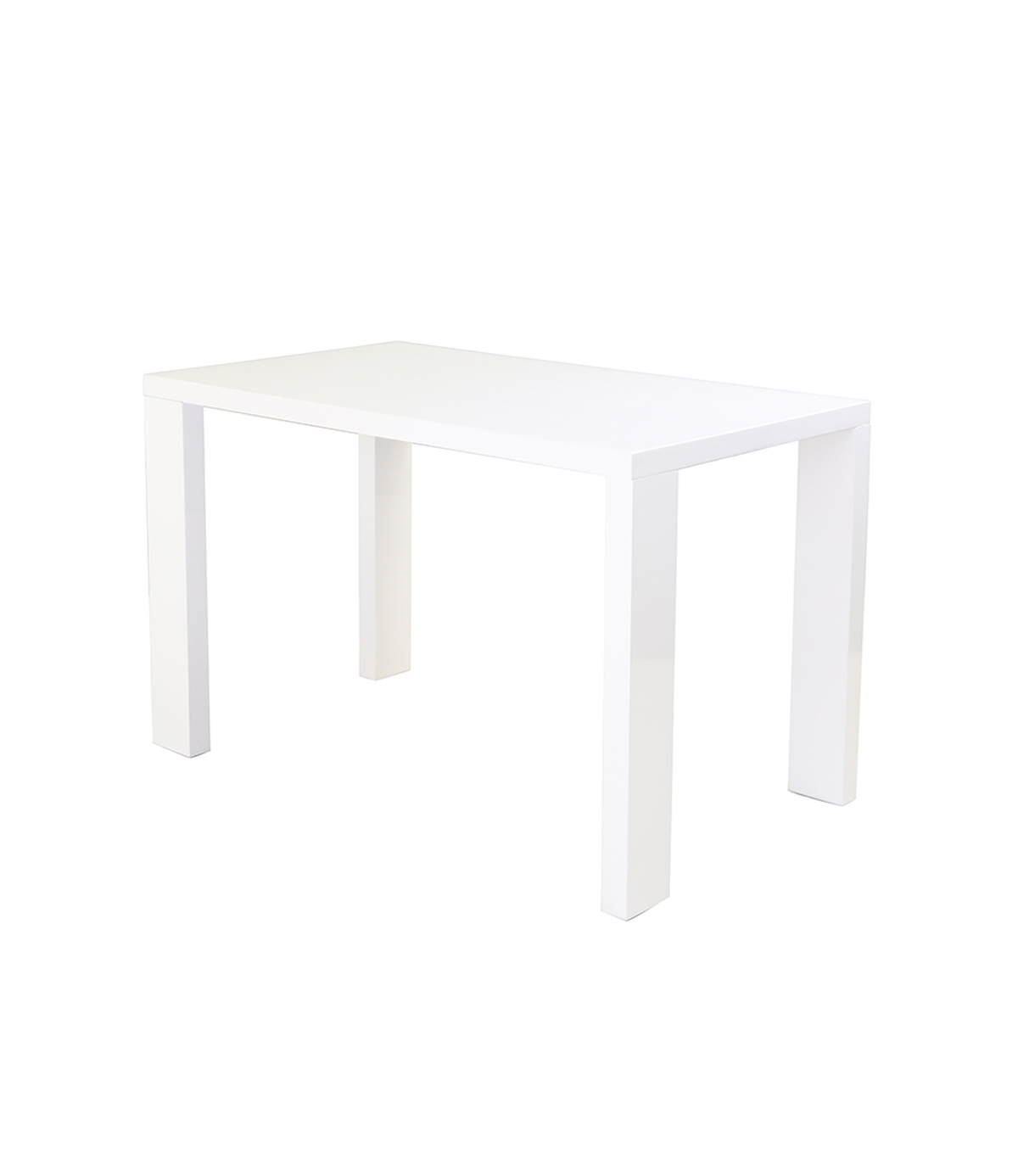 Miami White Gloss Dining Table Manchester Furniture Supplies