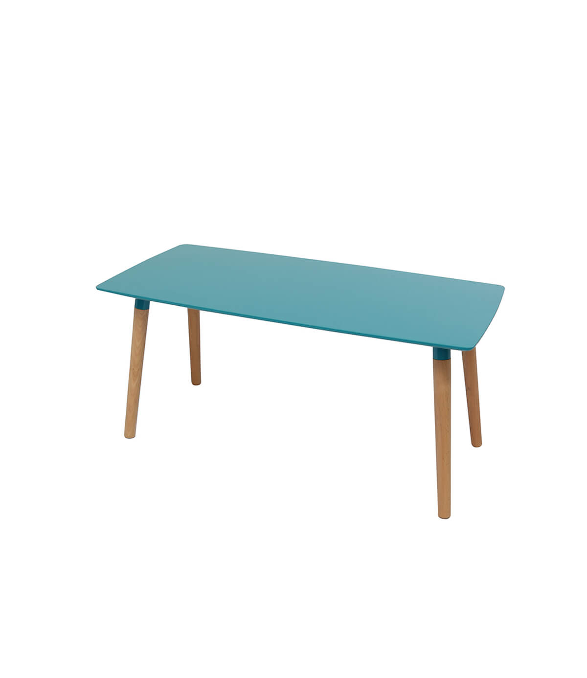Naples Blue Beech Wooden Coffee Table Manchester Furniture Supplies