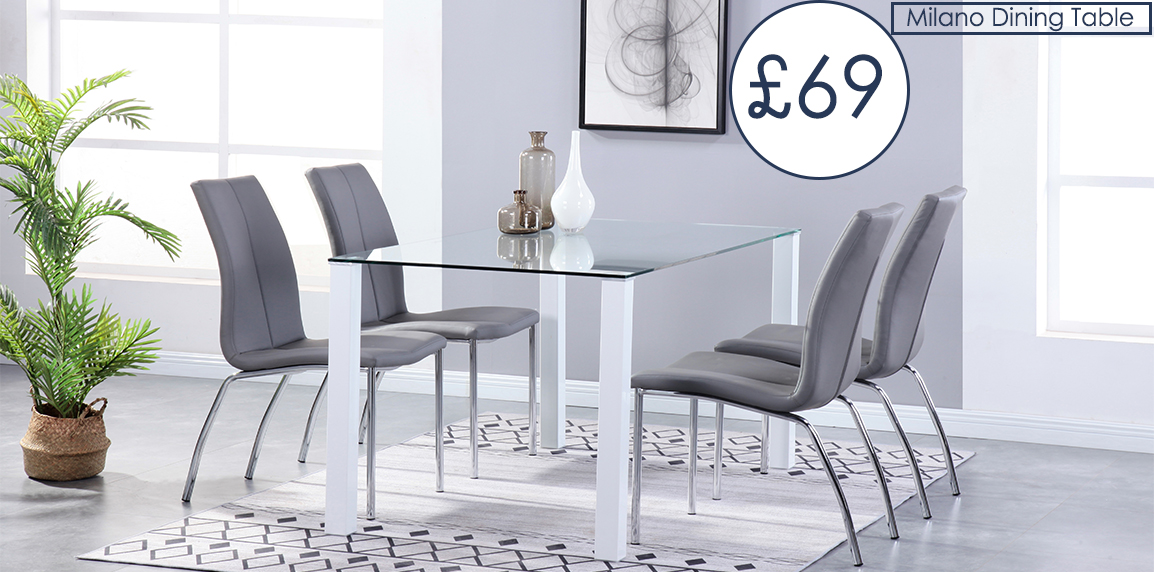 Milano Dining Table & Chairs