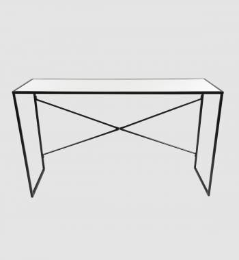 Louis High Gloss Console Table White