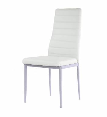 Alpha White Dining Chair