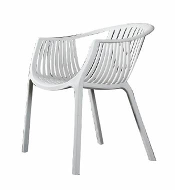 Arc White Dining Chair