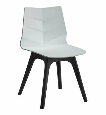 Arrow White Dining Chair
