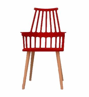Corral Red Dining Chair