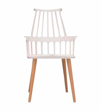 Corral White Dining Chair