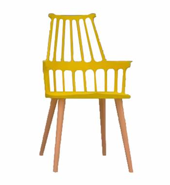 Corral Yellow Dining Chair