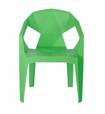 Cubix Green Dining Chair