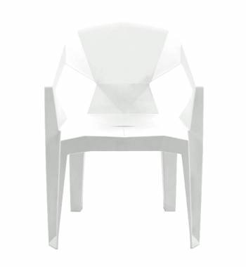 Cubix White Dining Chair