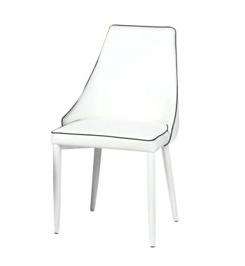 Derry White Dining Chair