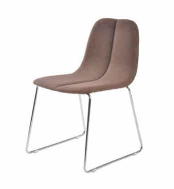 Groove Brown Dining Chair