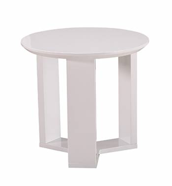 Kolo White Side Table
