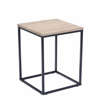 Louis Ash Wood Side Table