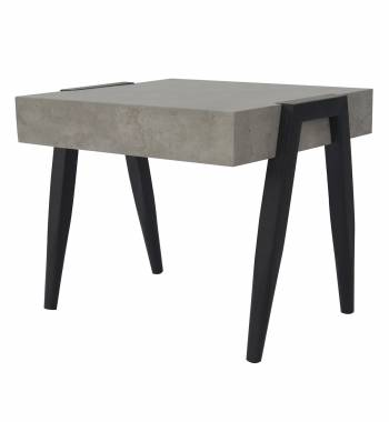 Madison Black & Grey Side Table