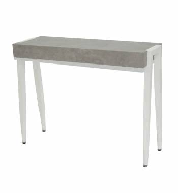 Madison Grey & White Console Table