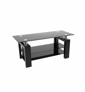Metro Black High Gloss TV Stand