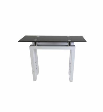 Metro White High Gloss Console Table
