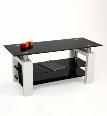 Metro White High Gloss TV Stand