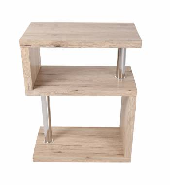 Miami Ash Wood 3 Tier Shelving Unit