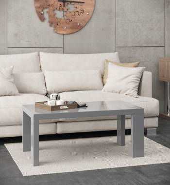 Miami Grey High Gloss Coffee Table Manchester Furniture