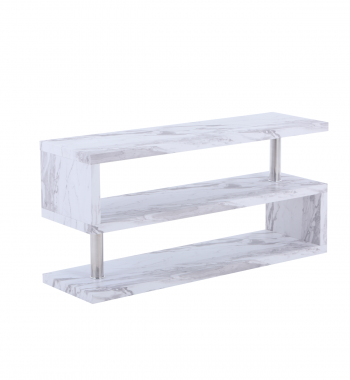 Miami TV Stand Grey Marble Veneer