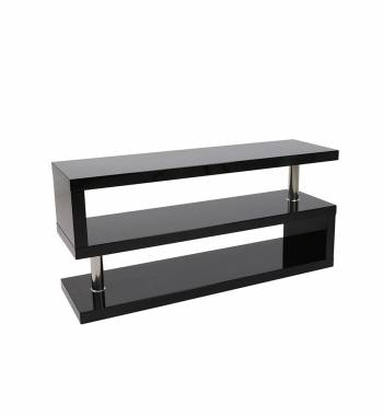 Miami Black Gloss Modern TV Stand Unit