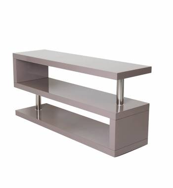Miami Mink Grey Gloss Modern TV Stand Unit