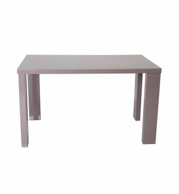 Miami Mink Grey High Gloss Dining Table