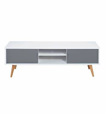 Montana TV Stand Grey & White