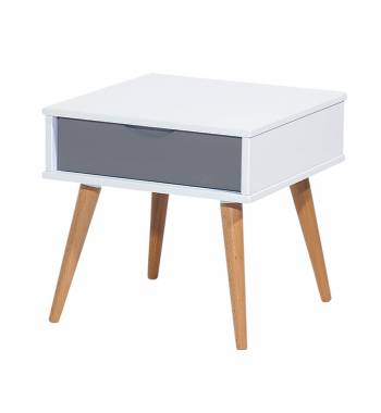 Montana Grey & White Side Table
