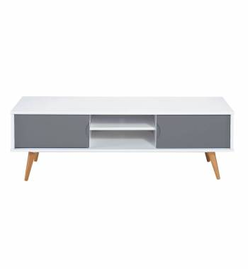 Montana Grey & White TV Stand