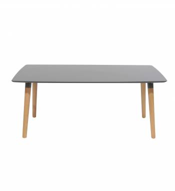 Naples Rectangle Grey Beech Wood Coffee Table