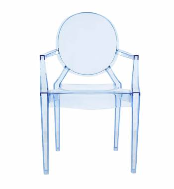 Regal  Sky Blue Dining Chair