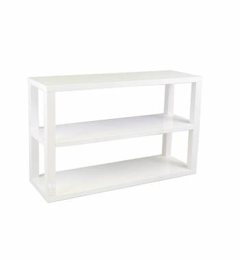 Saco 3 Tier Modern White Gloss Sideboard