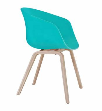 Tulip Green Dining Chair