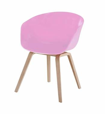 Tulip Pink Dining Chair