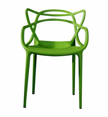 Twist Green Dining Chair