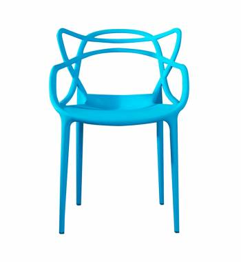 Twist Sky Blue Dining Chair