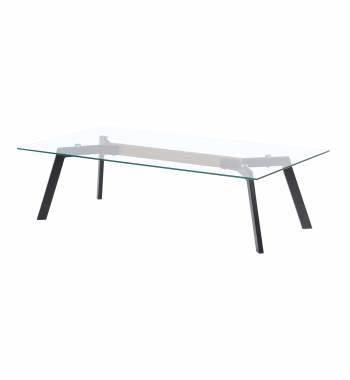 X Range Black Coffee Table