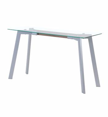X Range Grey Console Table