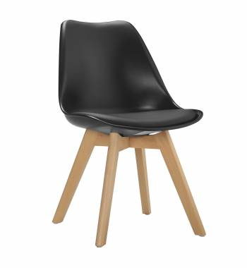 Roma Black Dining Chair