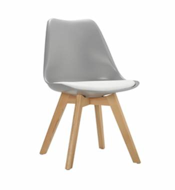 Roma Modern Grey Dining Chair